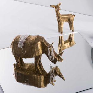 Rhino Statuette