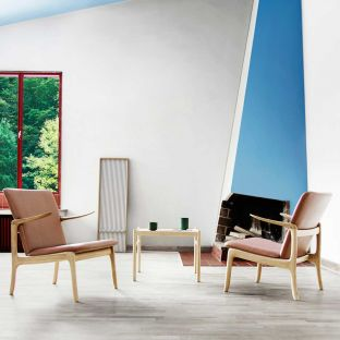 OW124 Beak Lounge Chair by Ole Wanscher for Carl Hansen and Son - Aram Store