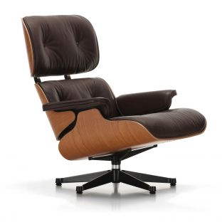 Eames Lounge Chair Cherry by Charles & Ray Eames for Vitra - Aram Store