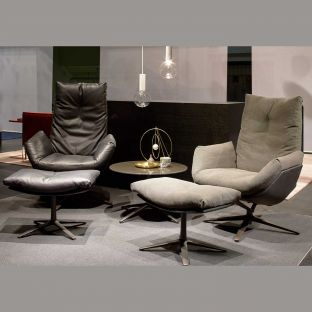 Cordia Lounge High Back Chair by Jehs & Laub for COR Sitzmobel - Aram Store
