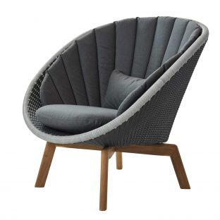 Peacock Lounge Chair by Foersom & Hiort-Lorenzen for Cane-line - ARAM Store