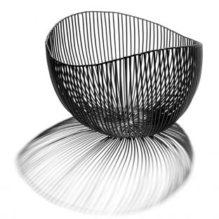 Plate Ovale Wire Bowl Large - ARAM Store