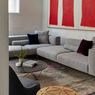 Jaan Living Recamiere with Board by EOOS for Walter Knoll - Aram Store
