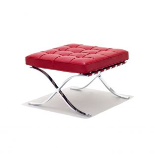 Barcelona Stool by Ludwig Mies van der Rohe from Knoll International - Aram Store