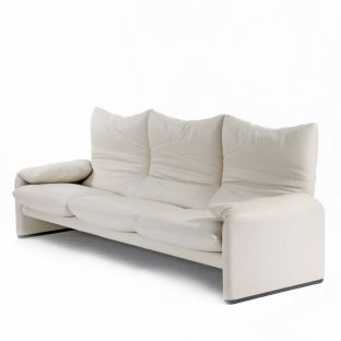 Maralunga Sofa 3 Seat 2380mm by Vico Magistretti for Cassina