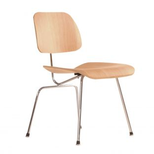 DCM Eames Plywood Chair by Charles & Ray Eames for Vitra - Aram Store