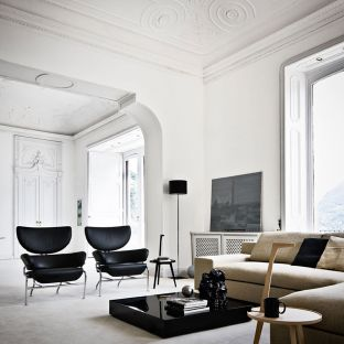 Tre Pezzi Armchair by Franco Albini for Cassina