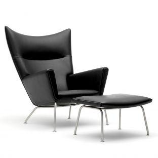 CH446 Footstool by Hans Wegner from Carl Hansen & Son - Aram Store
