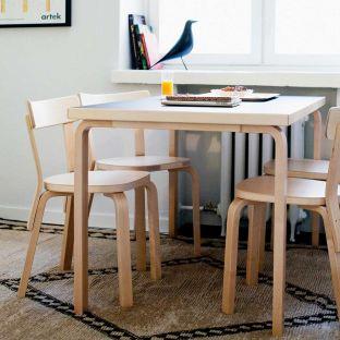 81B Aalto Rectangular Table by Alvar Aalto for Artek - ARAM Store