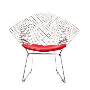 Bertoia Diamond Armchair by Harry Bertoia from Knoll International - Aram Store