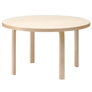91 Aalto Round Table by Alvar Aalto for Artek - ARAM Store