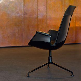 FK High Back Bucket Chair by Preben Fabricius & Joergen Kastholm for Walter Knoll - Aram Store