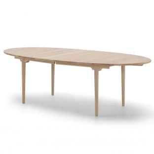 CH339 Extendable Table by Hans Wegner for Carl Hansen and Son - ARAM Store