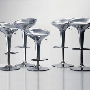 Al Bombo Aluminium Adjustable Barstool by Stefano Giovannoni from Magis - Aram Store