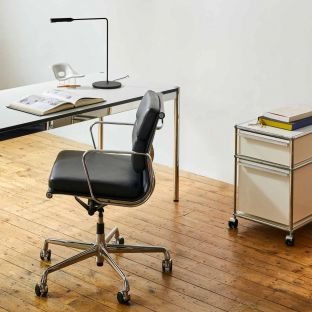 Soft Pad EA 217 Chair by Charles & Ray Eames for Vitra - ARAM Store