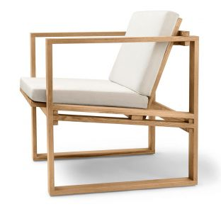 BK11 Outdoor Lounge Chair by Bodil Kjaer for Carl Hansen and Son - ARAM Store