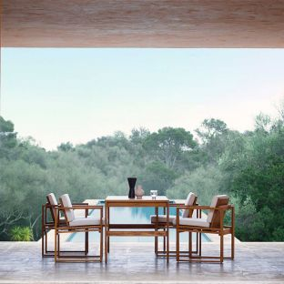 BK15 Outdoor Table by Bodil Kjaer for Carl Hansen and Son - ARAM Store