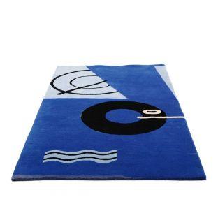 Eileen Gray Blue Marine Rug - Aram Designs