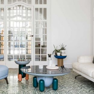 Explorer 1 Side Table by Jaime Hayon for BD Barcelona - ARAM Store