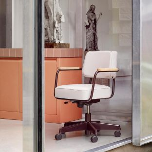Fauteuil Direction Pivotant by Jean Prouvé from Vitra - ARAM Store