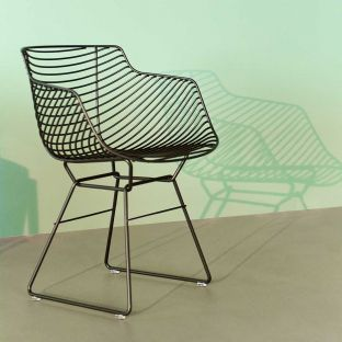 Flow Filo Slim Outdoor Chair - Jean Marie Massaud - MDF Italia - ARAM STORE
