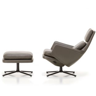 Grand Relax and Ottoman Low by Antonio Citterio for Vitra - Aram Store