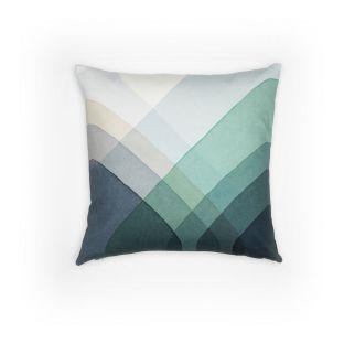 Herringbone Cushion - Blue