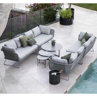 Horizon 2 seat Sofa left arm - Cane-line - ARAM STORE