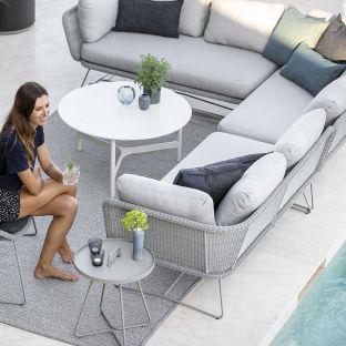 Horizon 2 seat sofa right arm - Cane-line - ARAM STORE
