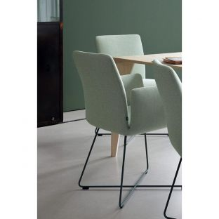 Jalis ArmChair highback by Jehs and Laub for COR Sitzmobel - ARAM Store