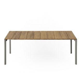 Makki Slatted Outdoor Table 219cm by Bartoli Design for Kristalia - ARAM Store