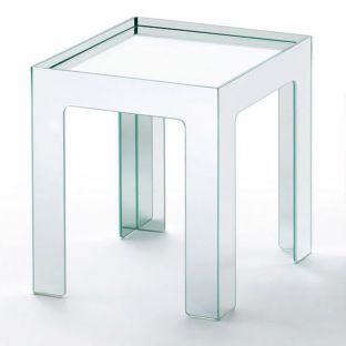 Ex Display Mirror Mirror Side Table by Glas Italia - Clearance - Aram Store
