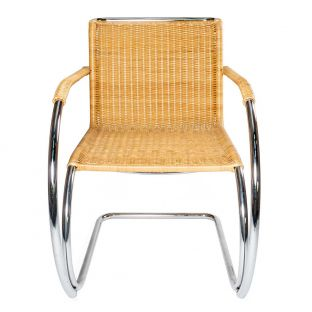 Vintage Rattan MR Chair - Mies van der Rohe