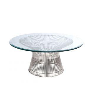 Platner 92cm Coffee Table - Knoll - ARAM Store