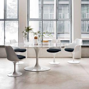Saarinen 198cm Oval Dining Table by Knoll International - ARAM Store