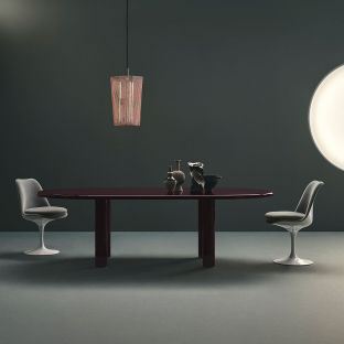 Smalto Dining Table 240cm by Barber Osgerby from Knoll - Aram Store