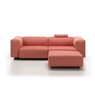 Soft Modular 2 Seat Sofa with Ottoman by Jasper Morrison for Vitra - Aram Store