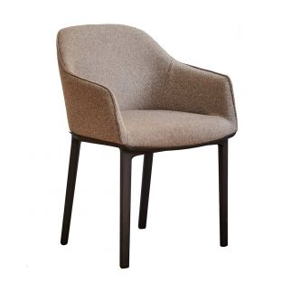 Ex Display Set of 4 Softshell Chairs by Vitra - ARAM Store