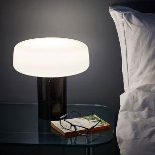 Solid Table Lamp - Grey Carrara