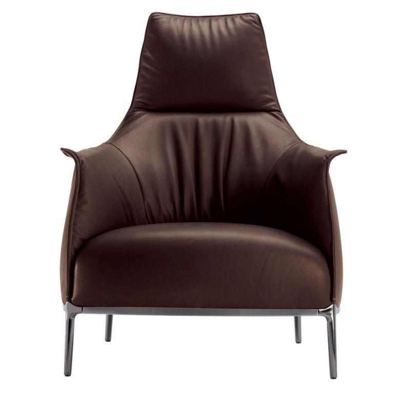 Archibald A High-back Armchair