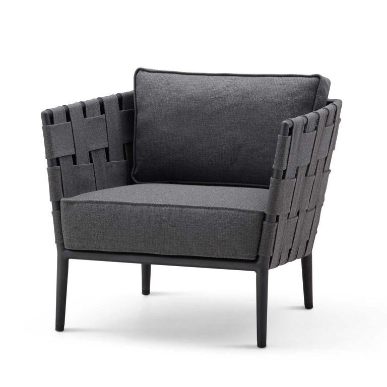 Conic Lounge Chair incl cush.