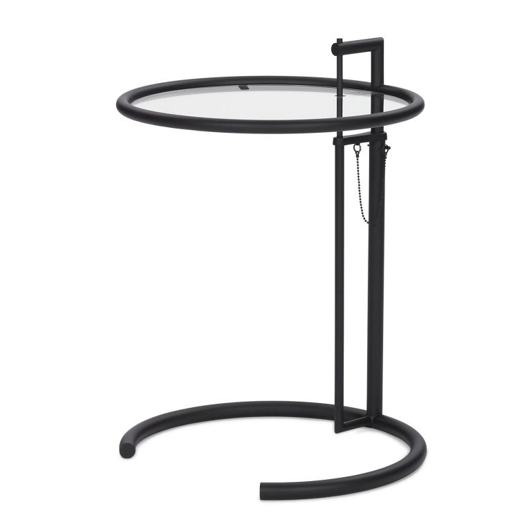 E1027 BLACK Adjustable Table