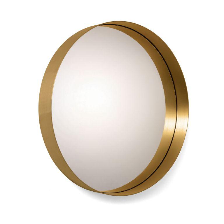 Round Cypris Mirror