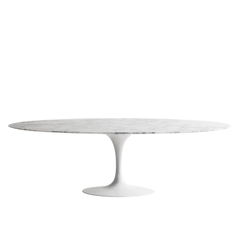 Saarinen Oval Dining Table - Marble