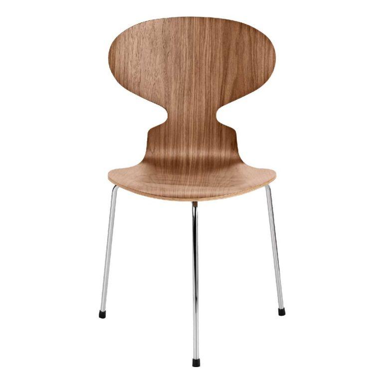 Ant Chair 3100 3-leg Wood by Arne Jacobsen for Fritz Hansen