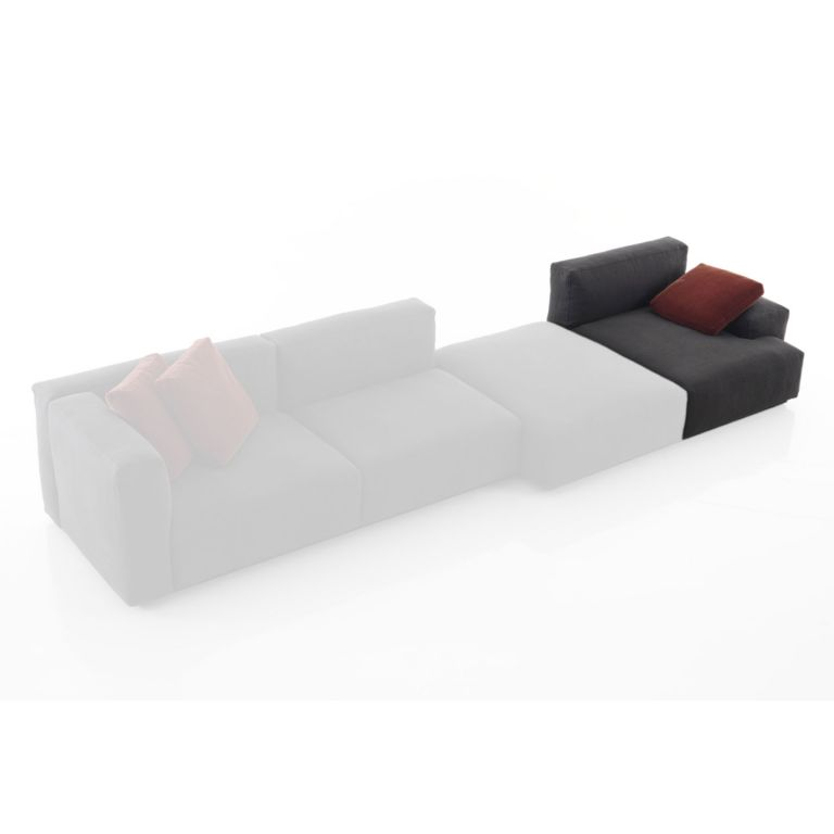 Mex Cube Deep Seat with Wide Arm