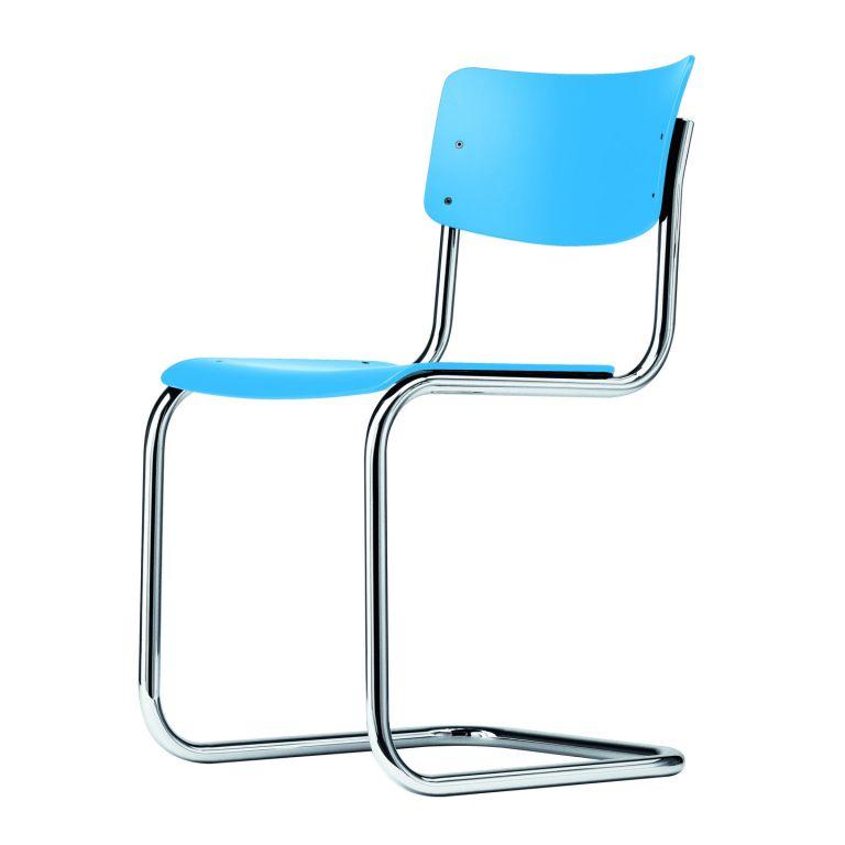 S43 Chair - Chrome Frame