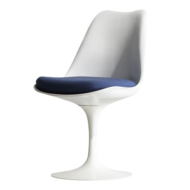 Tulip Chair with Seat Pad