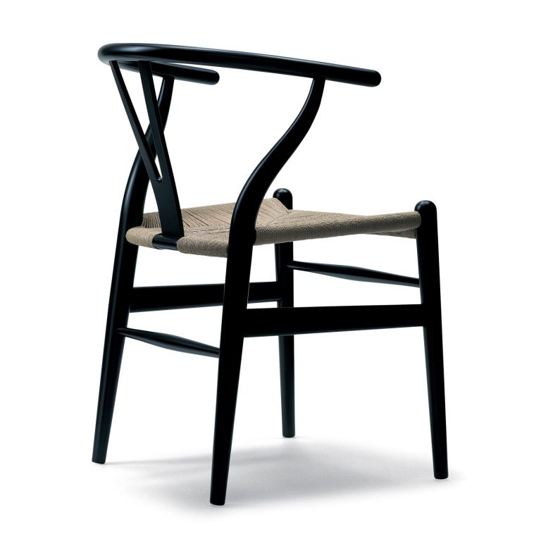 CH24 Wishbone Chair - russet red