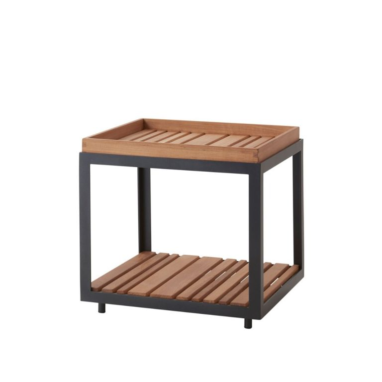 Level outdoor side table by Cane-line